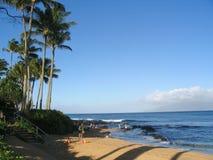 Napili coastline stock photography