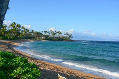 Free Napili, Hawaii On Clear Morning Stock Images - 110106124