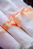 Napkin at a banquet Royalty Free Stock Photos