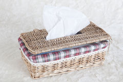 Napkin box Royalty Free Stock Image