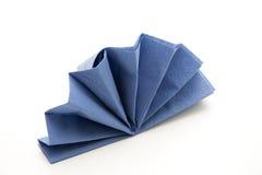 Napkin folded Royalty Free Stock Images