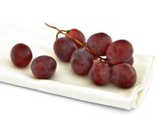 Napkin grapes Royalty Free Stock Photography