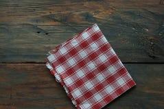 Napkin on table Stock Photos