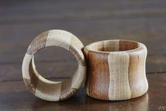 Napking rings. Stock Photo