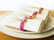 Napkins Royalty Free Stock Images