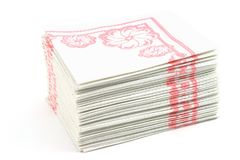 Napkins Stock Photography