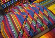 Napkins guatemala stock photography