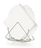 Napkins in a stand Royalty Free Stock Images