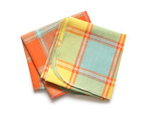 Napkins On White Royalty Free Stock Photography