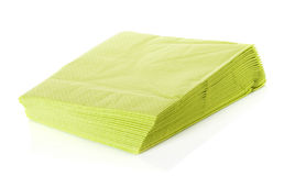 Napkins  on white Stock Photography