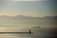 Naple Harbour, Italy Royalty Free Stock Photo