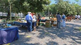 Naples antyka rynek Zdjęcia Stock