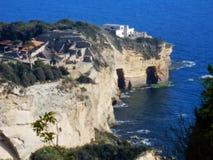 Naples - Archeologiczny teren Poseylipon Fotografia Royalty Free