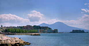 Naples, the bay Royalty Free Stock Images