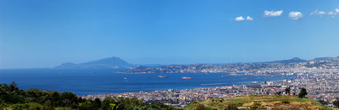 Naples the bay Stock Photos