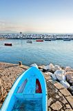 Naples bay with Mediterranean sea Royalty Free Stock Photo
