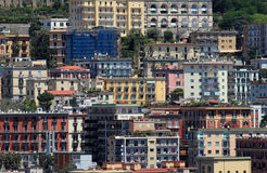 Naples buildiings Royalty Free Stock Images