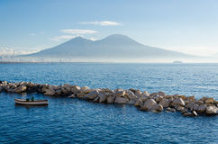 Naples. Is the capital of the Italian region Campania and the third-largest municipality in Italy, after Rome and Milan. As of 2012, around 960,000 people live Royalty Free Stock Images