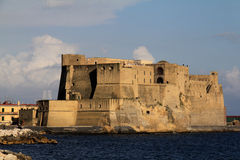 Naples: Castel dell'Ovo Stock Images