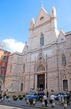 Naples Cathedral Stock Image