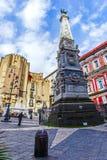 Naples, church of San Domenico Stock Images