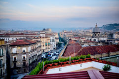 Naples city from above. Italy Royalty Free Stock Photo