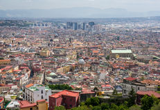 Naples cityscape, Italy Stock Image