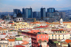 Naples cityscape Stock Photography