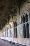 Naples - Clarisse cloister of Saint Claire Stock Images