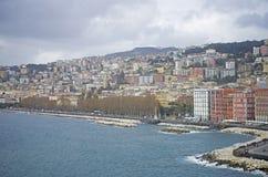Naples coastline, Italy Stock Images