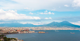 Naples daylight Royalty Free Stock Images