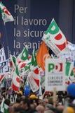 Naples- De Luca for President. Italy-Naples- De Luca for President- The demonstration for the election of Vincenzo De Luca for President of the Region Campania Stock Photos