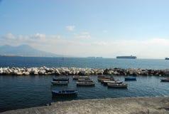 Naples docks Stock Images