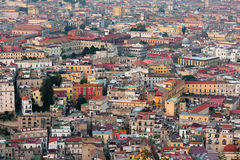 Naples in the evening Stock Photography