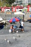 Naples fisherrmen Obrazy Stock