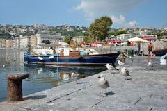 Naples fisherrmen Zdjęcia Stock