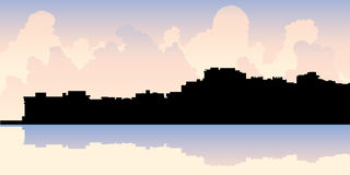 Naples, Florida Skyline Royalty Free Stock Image