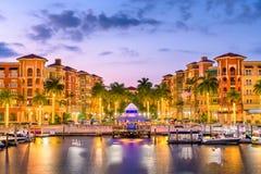 Free Naples, Florida, USA Town Skyline Royalty Free Stock Photography - 149286047
