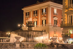 Naples Fountain Italy Stock Image