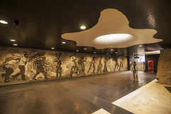 Naples gångtunnel Arkivfoto