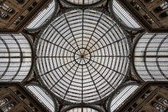 Naples Galleria Umberto I Royalty Free Stock Image