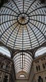 Naples Galleria Umberto I royaltyfria bilder