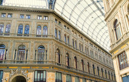 Naples Galleria Umberto,  Italy Stock Photos
