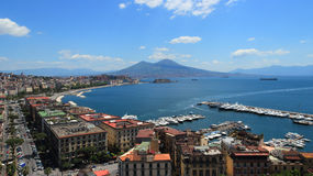 Naples gulf Royalty Free Stock Photos