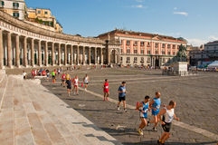 Naples Half-Marathon Stock Images