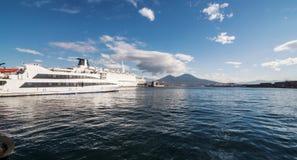 Naples Harbor Stock Image