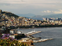 Naples harbour Royalty Free Stock Photo