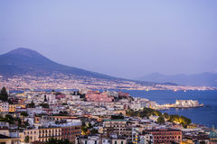 Naples highview Royalty Free Stock Photos