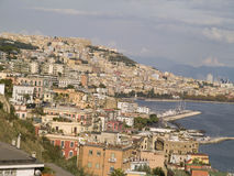 Naples, historic city located south of Italy Royalty Free Stock Images
