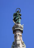 Naples, the Immaculate Virgin Royalty Free Stock Photo
